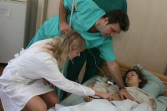 Трахнул пациентку в коме фраза